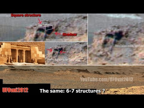 nouvel ordre mondial | Ancient Aliens On Mars: The Temple Facade, Entrance, Ancient Columns and Lintel. October 2017