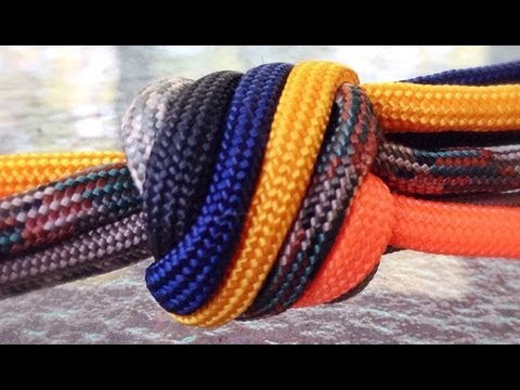 Paracordist How To Tie the Double Matthew Walker Knot w/ Paracord (Pt. 1 ALICE Pack Handle)