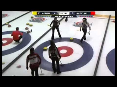 Pomeroy Inn & Suites Prairie Showdown: Quarters - Rachel Homan vs Val Sweeting