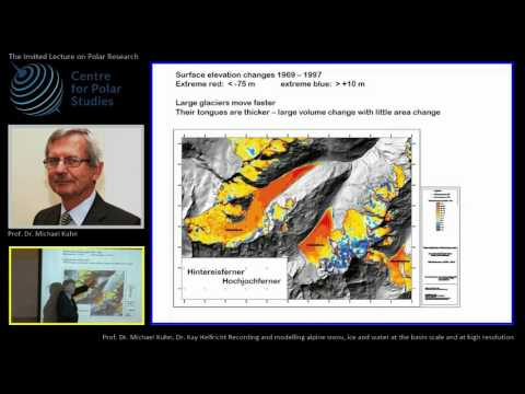 Prof. Dr. Michael KUHN -The InvitedLecture at Centre for Polar Studies  11.10.2016