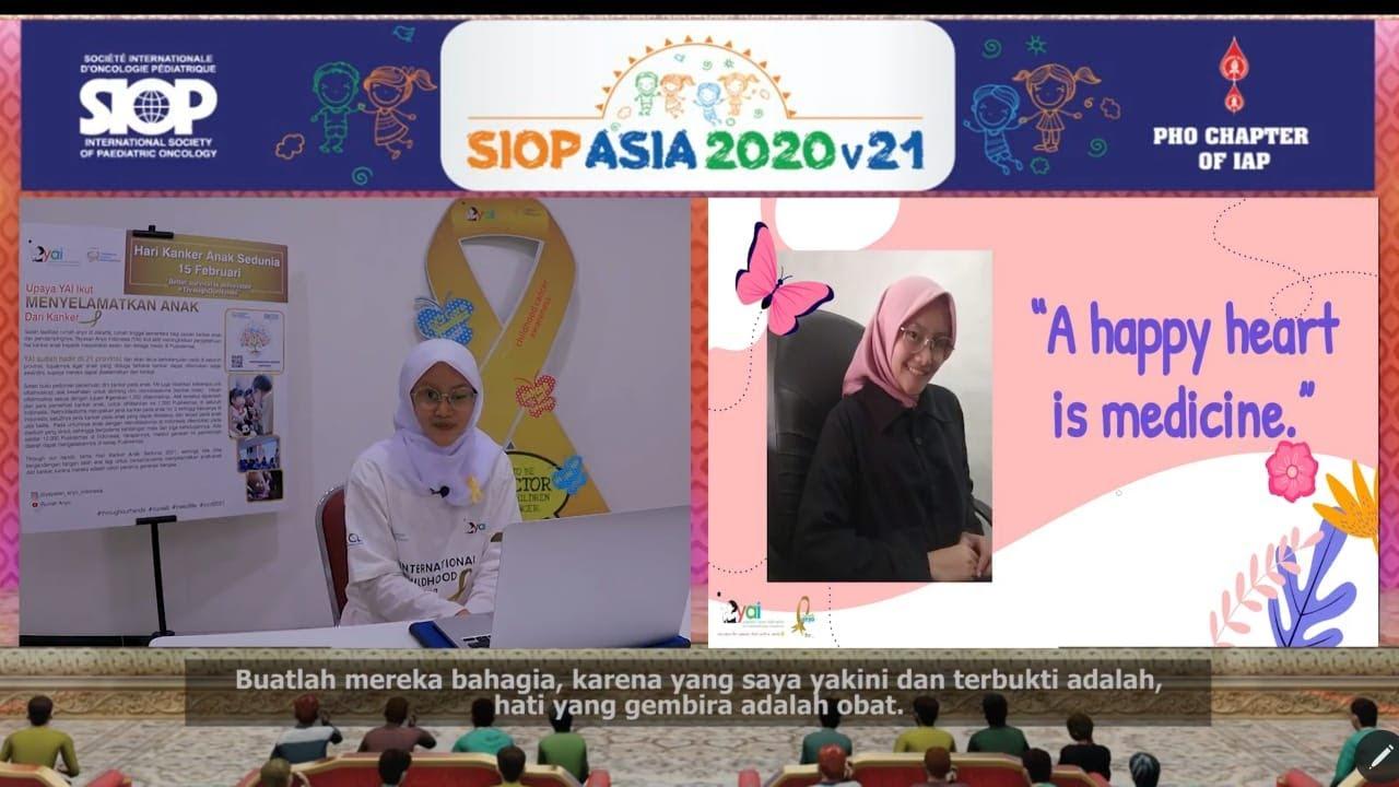 Congrats Siti Julia! Presentasi Virtual di CCI Asia Conference 2021!