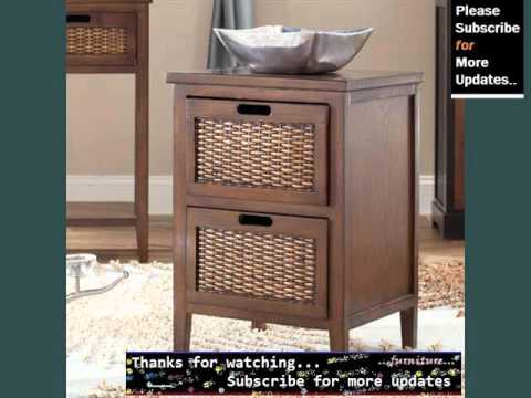 wicker-end-table-with-drawer-|-wicker-furniture-ideas
