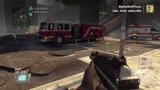 Call of Duty Black Ops 2 gameplay with my friend Shane