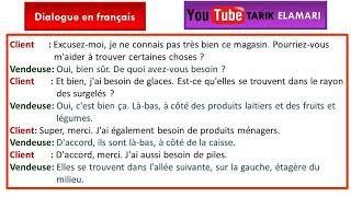 Dialogue en français Niveau A1 03