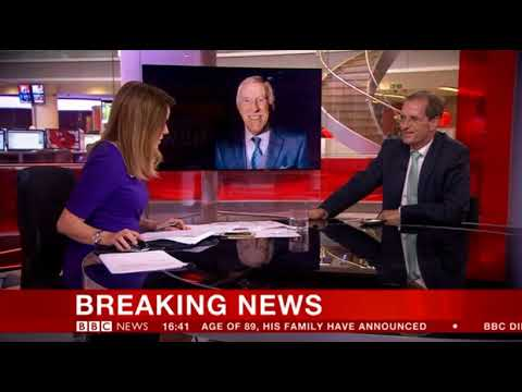 BBC Breaking News - 18/08/17 Sir Bruce Forsyth dies at 89