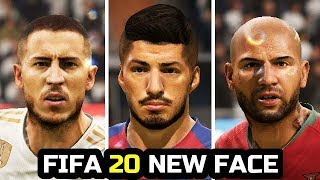 FIFA 20 - New Face Added - ( Hazard, Suarez, Quaresma )