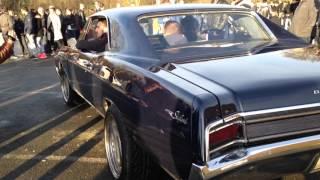 bruit d'une Buick Skylark/moteur V8/meeting rennes Fr