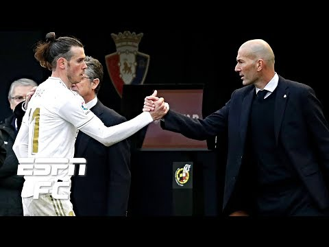 Zinedine Zidane played his cards right with Gareth Bale in Real Madrid's win vs. Osasuna | ESPN FC