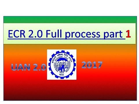 How To Prepare PF Monthly Challan Cum Return (ECR) Part 1