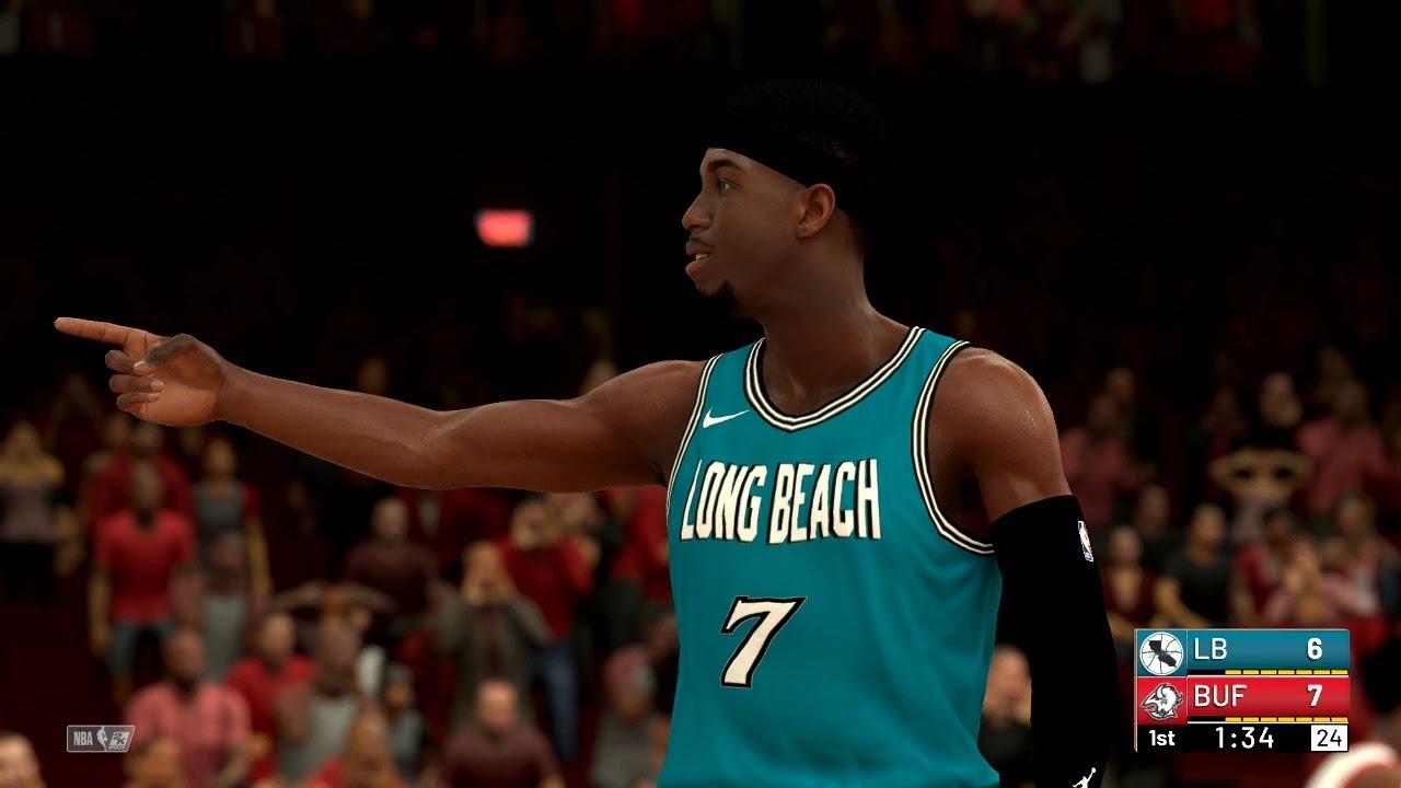 finest selection b9876 22a69 NBA 2K19 - Long Beach Bruisers VS Buffalo Bulls