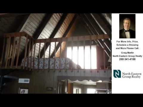 115 Ln 275 Jimmerson Lake, Angola, IN REAL ESTATE VIDEO Craig Martin.