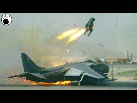 5 Pilots Who Ejected At The Last Second (Ejecting From Fighter Jet)