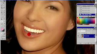 KC Concepcion shinny  white teeth (Photoshop) Thumbnail