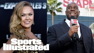 Ronda Rousey's Career Move To TV, LA Lakers Hire Magic Johnson | SI NOW | Sports Illustrated