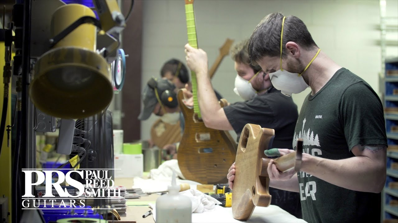 Prs Guitars Usa Factory Tour Stevensville Maryland Youtube