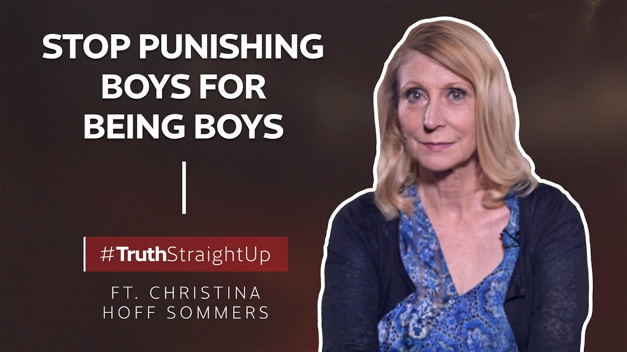 YAFTV - Stop punishing boys for being boys ft. Christina Hoff Sommers | #TruthStraightUp