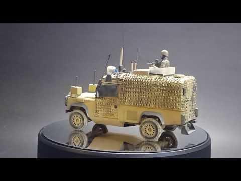 HobbyBoss/Blackdog 1/35 British Snatch Land Rover