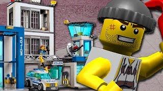 ⭕ LEGO CITY POLÏZEI deutsch - Ausbruch aus der Polizeistation Teil 4 - Pandido