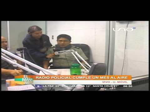 Radio policial cumple un mes al aire #mananerocbba