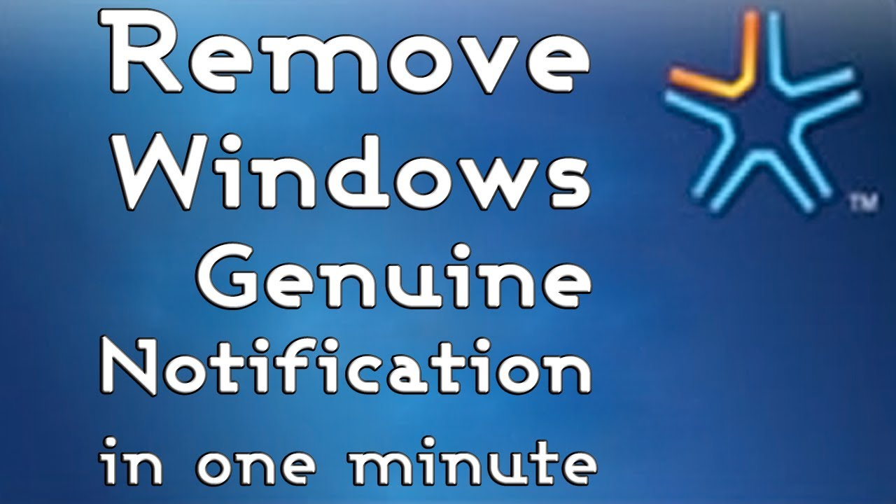 disable ask for genuine microsoft software
