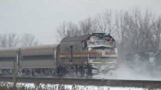 A Morning Of Railfanning At Pine Junction 1/12/09, Gary, IN. PART TWO.