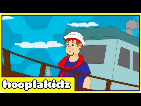 A Sailor Went to Sea | Nursery Rhymes | Rhymes For Children by Hooplakidz