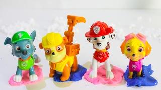 ЩЕНЯЧИЙ ПАТРУЛЬ все серии подряд Сборник развивающие мультики для детей про игрушки Щенячий патруль