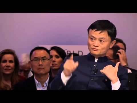 Jack Ma Davos Interview on Jan  23 2015