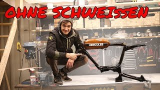 Build your own frame for a coffee racer moped | Moped Wednesday E.03