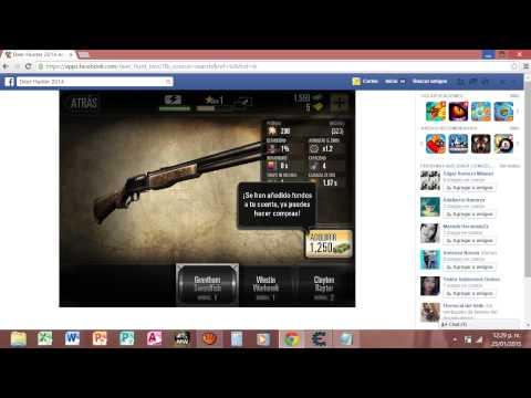 Hack De Deer Hunter 2014:Facebook Enero 2015 Cheat Engine