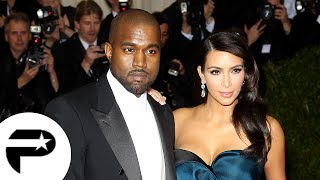 Kim Kardashian et Kanye West, couple ultra glamour