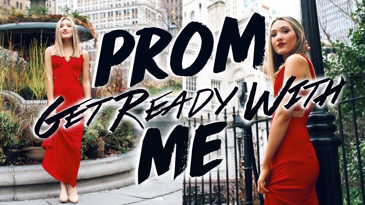 Get prom ready with me hair makeup dress - Get Ready With Me Prom 2017 Prom Hair Makeup Outfit