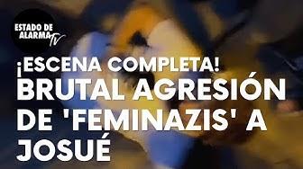 Imagen del video: La escena completa de la brutal agresión a Josué de unas 'feminazis'
