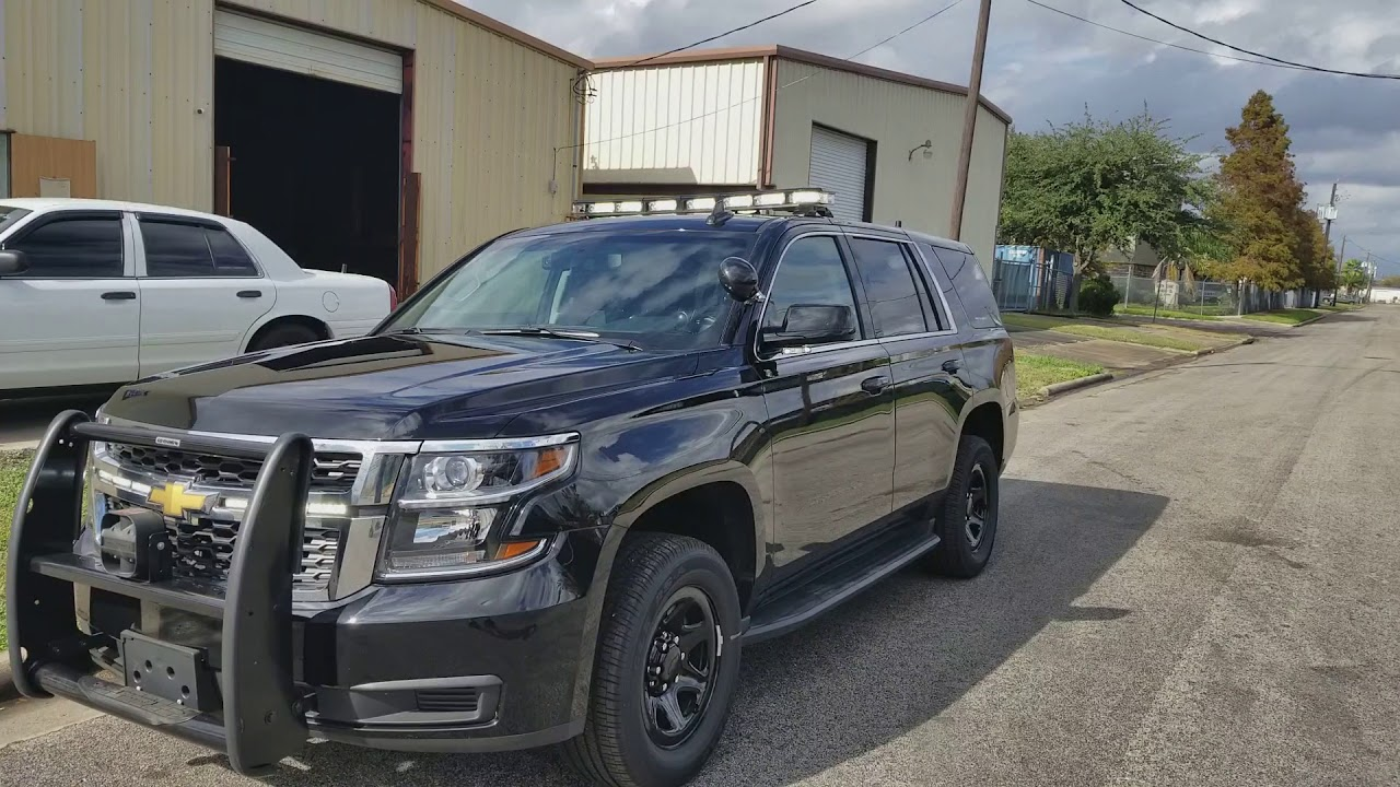 2018 Tahoe Patrol Code 3 and Feniex Police Lights by EFS ...