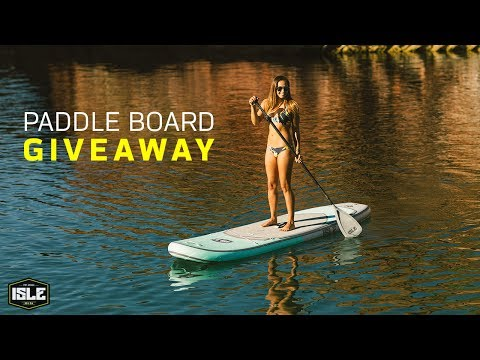 ISLE Surf & SUP Inflatable Paddle Board Giveaway