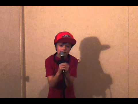 9 yr. old singing Who's Loving You