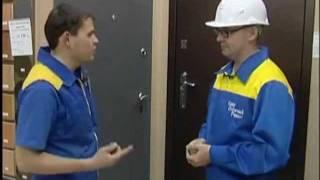 видео Конструктивные особенности бронедверей