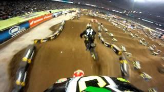GoPro HD:  Houston Race Monster Energy Supercross 2011