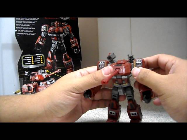 Transformers Generations Warpath Review en Español Videos De Viajes