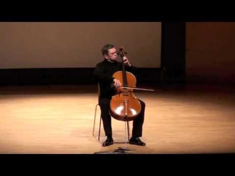 Bach d minor Courante Leonid Gorokhov cello
