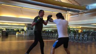 Personal Boxing Workout with in Gleason's Gym New York certified Boxing-Trainer Harry W. Trummer