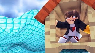 Minecraft:  DESAFIO DA BASE 100% SEGURA CONTRA TSUNAMI DE DIAMANTE ‹ JUAUM ›