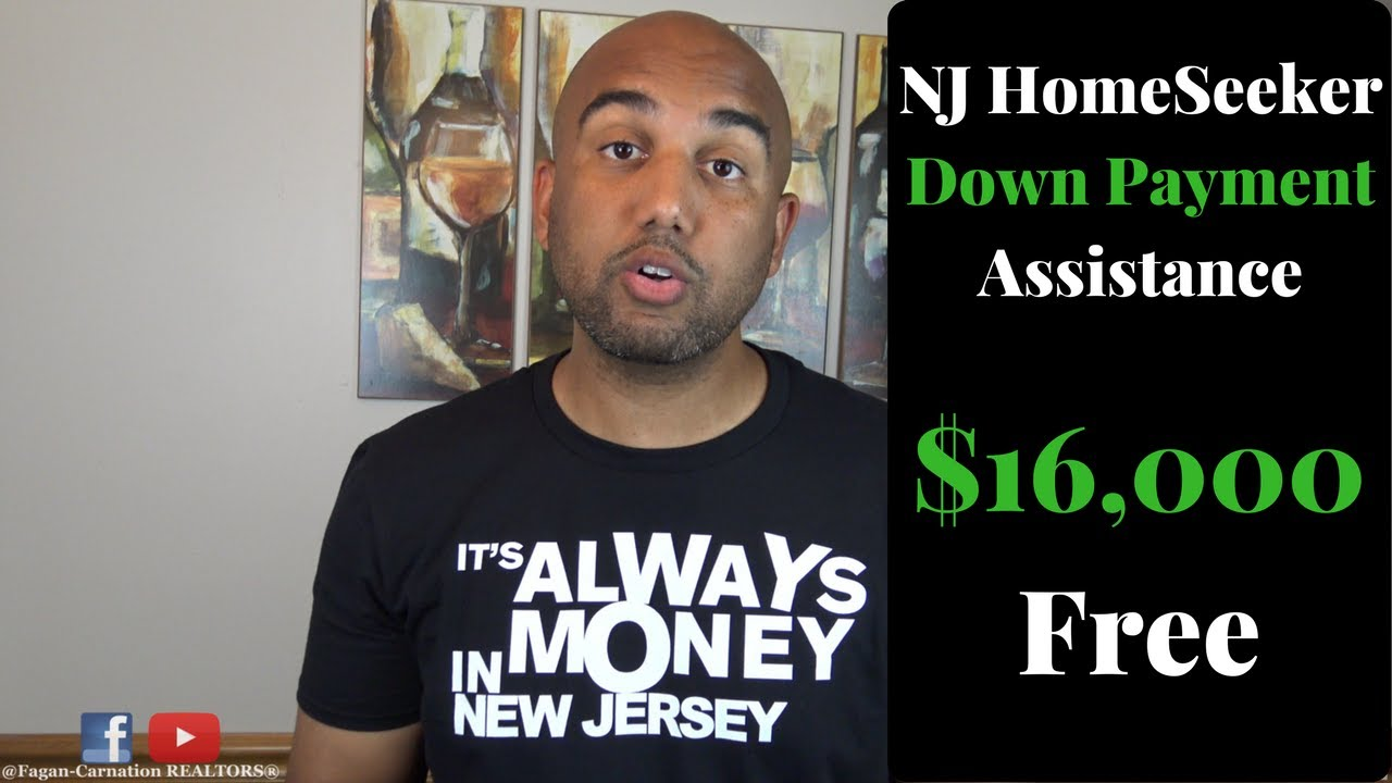 NJ Down Payment Assistance - $16,000 First Time Home Buyer Program