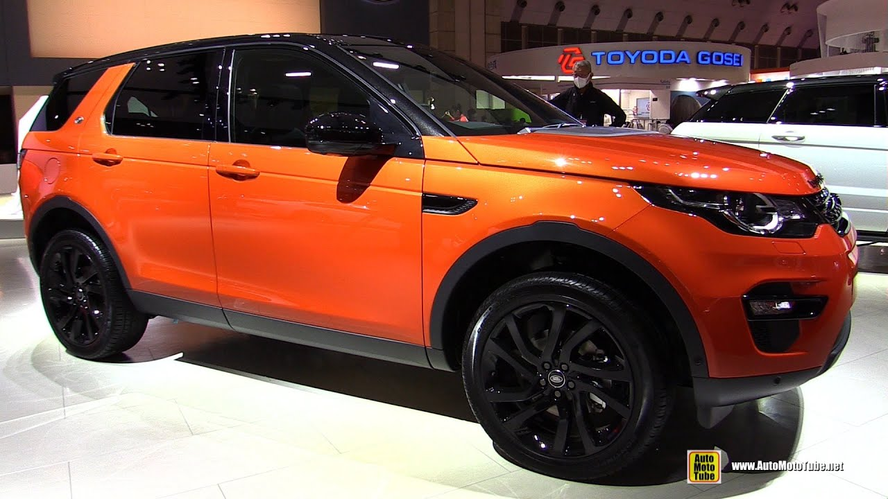 2016 land rover discovery sport hse luxury exterior interior walkaround 2015 tokyo motor. Black Bedroom Furniture Sets. Home Design Ideas