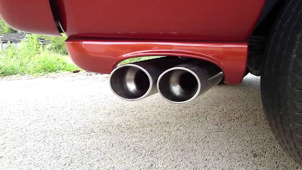 Dodge Daytona Stock Borla Exhaust Youtube