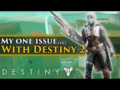 Destiny 2 - My one problem with storytelling and lore so far... (It's really not that bad)