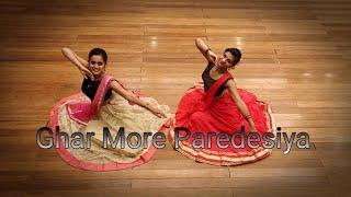 Ghar More Pardesiya - Kalank | Dance Cover | Ridhi and Sampada