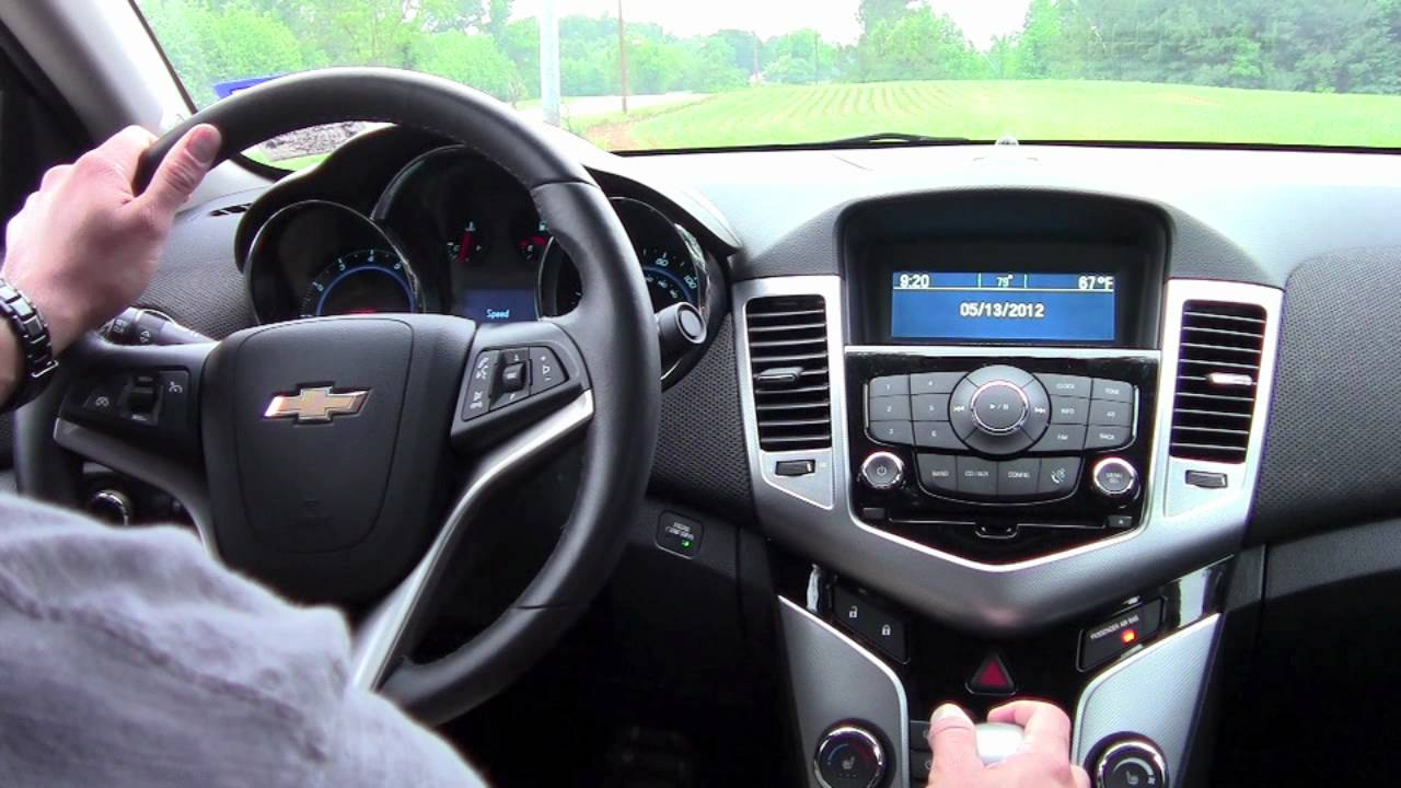 2012 Chevy Cruze Test Drive Car Review Youtube