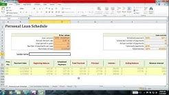 Personal Loan Calculator (Flat rate Interest)