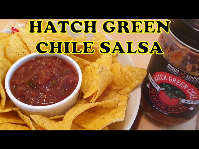 Hatch Green Chile Pepper Premium Salsa from Burns & McCoy Product Review